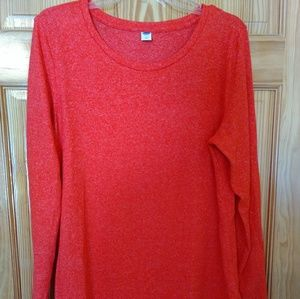 Old Navy Coral Tunic Sweater